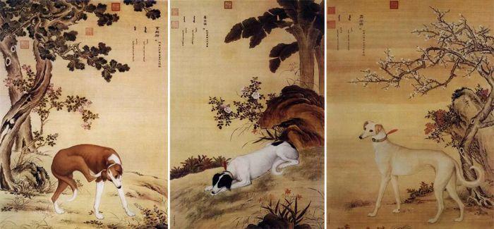 他画的这些犬:每只值千万