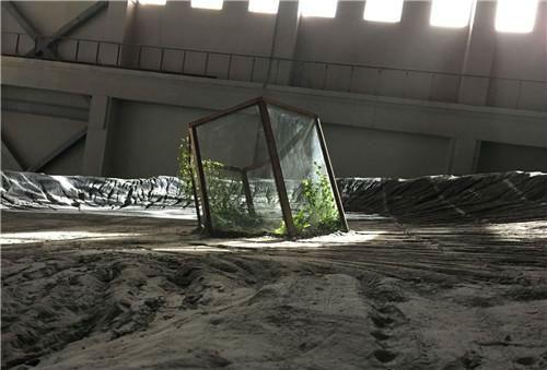 作者:牟森+MSG  作品名称:《存在巨链—行星三部曲》 尺寸可变 材质:跨媒介巨构