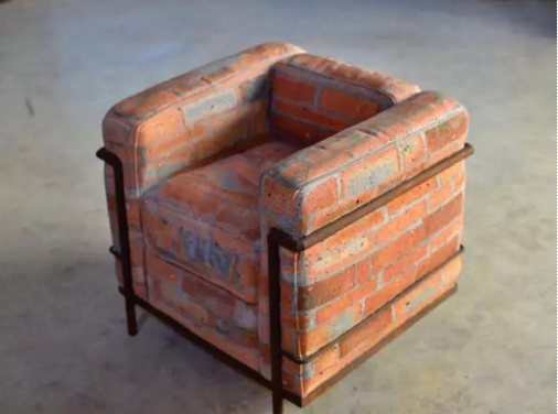 作者:戴耘 作品名称:《沙发》 尺寸:75×80×75cm 材质:雕塑