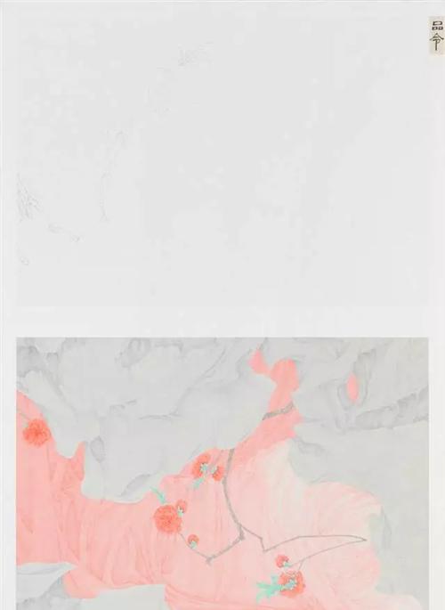 作者:张见 作品名称:《品令》 尺寸:82.9×57.8cm 材质:绢本设色