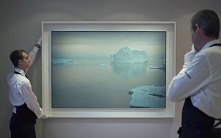 格哈德·里希特《冰山》首度登上苏富比拍场!