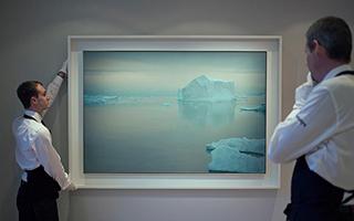 首登苏富比的《冰山》暗喻格哈德·里希特的破碎婚姻