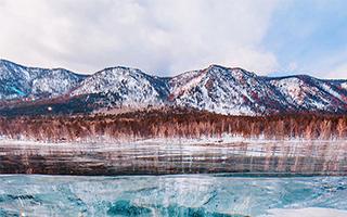 世界尽头的冷酷仙境就在她镜头下的冬日贝加尔湖