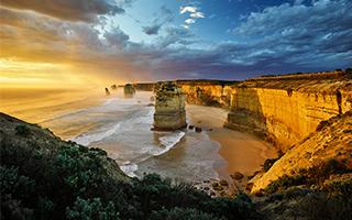 12使徒岩 澳大利亚最为传奇的海岸