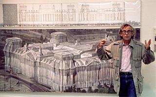 特朗普要修边境墙 让艺术家克里斯托设计方案怎么样