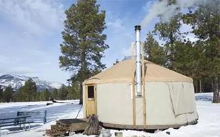 去美国雪原宿营是啥感觉?