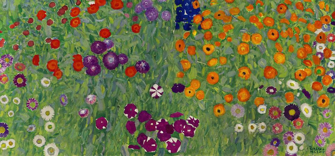 古斯塔夫·克林姆特《花草农园》率先在香港展出