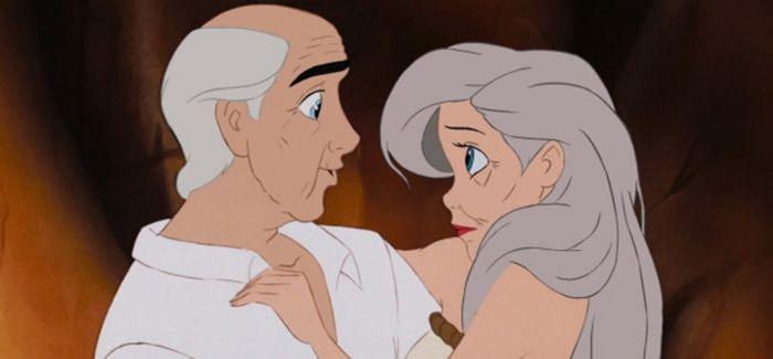 当迪士尼CP都老了 还会相亲相爱幸福甜蜜吗