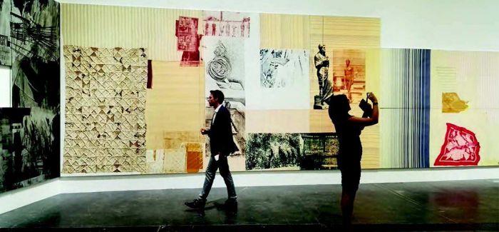 """""""劳森伯格在中国""""美国获颁""""年度全球艺术奖"""""""