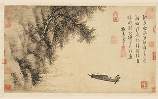 """文人画是用诗人的思考方式去绘画 源于""""迁想妙得"""""""