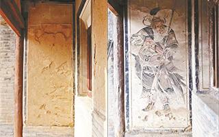 山西查获被盗壁画260幅