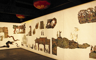 皮影去威尼斯双年展不会把中国元素当展销?