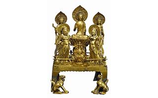 142件千年前中印艺术珍品齐聚福州