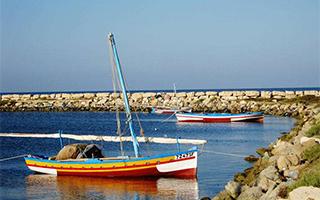 突尼斯免签了 终于能去它最棒的小岛晒个北非的太阳