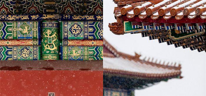 北京飘雪 故宫现绝美雪景