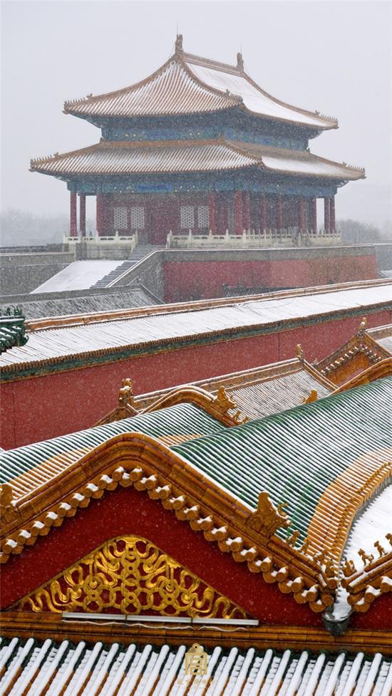 故宫博物院雪景