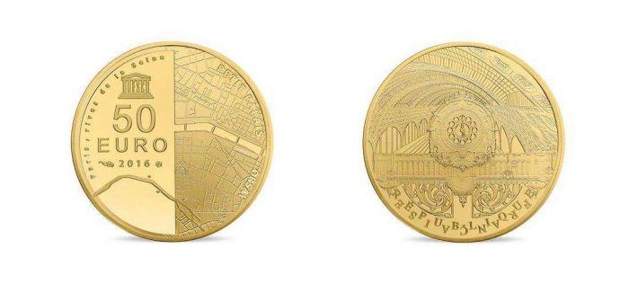 """法国发行""""巴黎瑰宝""""——自由女神像金银纪念币"""