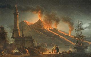 爆发的火山为什么能激发艺术家的想象和敬畏?