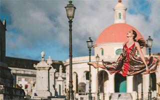 波多黎各街头的芭蕾 Omar Z. Robles 摄影作品
