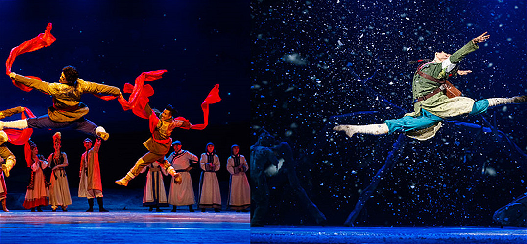 打夯舞 红绸舞 冰渠舞 新疆舞剧《戈壁青春》还原兵团生活