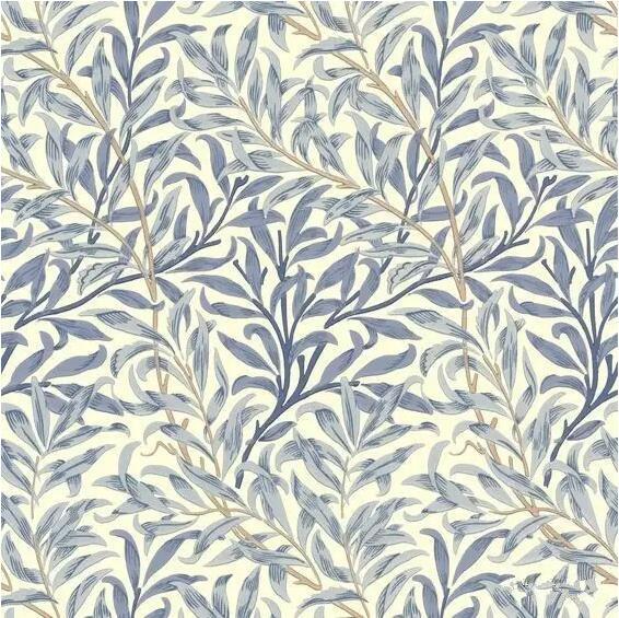 清新的植物元素,生动的绘画线条,古典浪漫的色彩,密集的构图形式造就图片