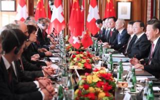 """瑞士助力""""一带一路""""国际合作高峰论坛—两国共同举办2017中瑞旅游年"""