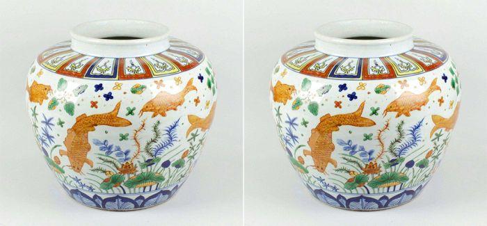 中国古董鱼盆在英拍得近700万元 曾被当赝品