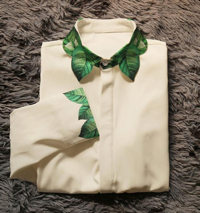 衬衫总是千篇一律?10 大创意领口让你引领潮流