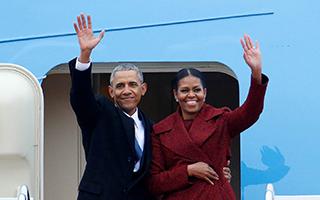奥巴马夫妇将以超4亿天价出版回忆录