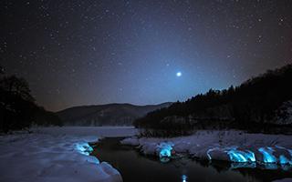 克罗地亚公园冬季美景宛如童话世界