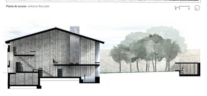 2017普利策奖得主RCR Arquitectes建筑师们设计的住宅Casa Entremuros