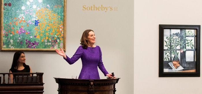 伦敦苏富比艺术晚拍成交16亿 创最高总成交额