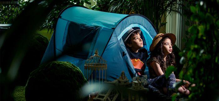 熊猫伴游 睡房露营……那些城市酒店祭出的亲子妙招