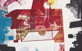 劳森伯格等艺术家作品上拍战后及当代艺术晚间拍卖