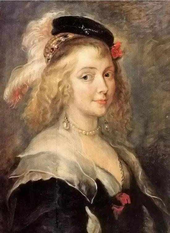 鲁本斯《海伦娜·弗尔蒙的肖像》