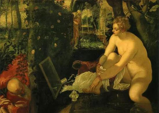 丁托列托《浴后苏珊娜》