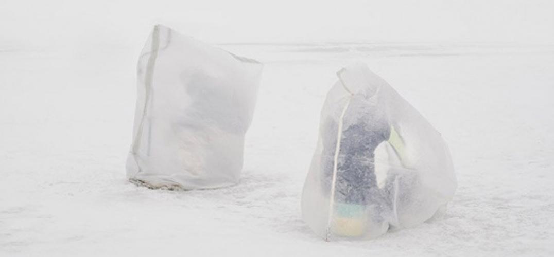 零下40度的冰上钓鱼