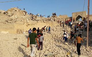 伊拉克收复了摩苏尔 但述五千年的文物什么也没剩下