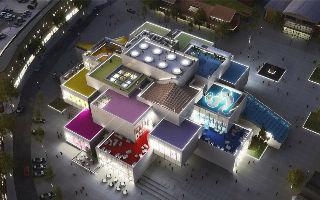 乐高第一座体验中心将于九月开放
