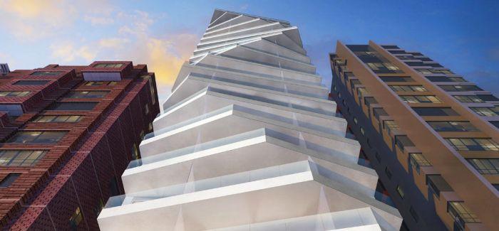 厄瓜多尔的这座18层塔楼 宛如城市雕塑