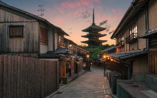 """令人惊叹的照片 被称为""""京都的最美丽的相片"""""""