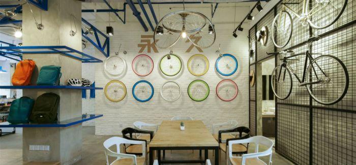 上海永久自行车咖啡馆 魔都的怀旧单车迷都爱在这里喝咖啡