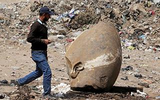 古文明发源地埃及 找到水坑里的法老