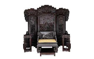 紫檀木宫廷御用家具逐渐成为收藏主流