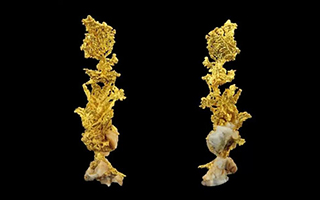美丽矿晶和神秘的陨石亮相上海矿物化石展