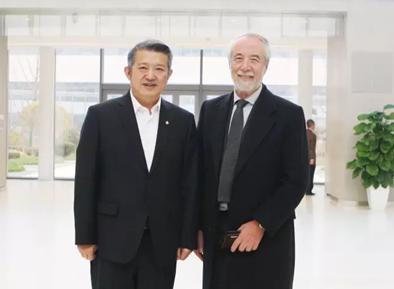 泰康主席陈东升与苏富比全球董事长 Domenico De Sole