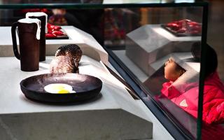 """吉林办""""甜蜜""""巧克力展 共用巧克力杏仁1500多公斤"""