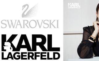 Karl Lagerfeld 与施华洛世奇水晶联手了