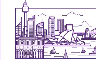 Dribbble设计师集体创作17枚城市名片图案