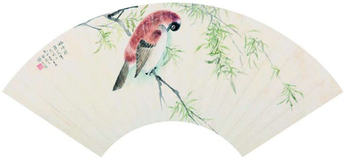 """她""""雅静""""的画笔记录了春分时节的江南"""